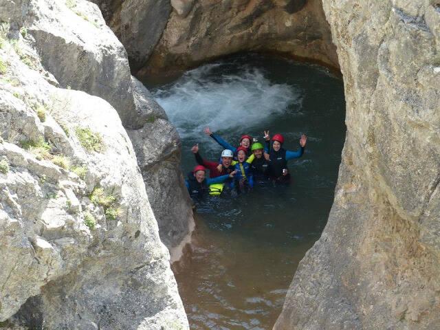 canyoning hautes alpes alpes de haute provence