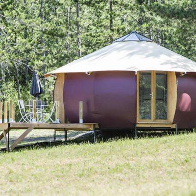 camping insolite hébergement insolite à la motte du caire