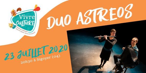 Duo Astreos en concert à sigoyer 04