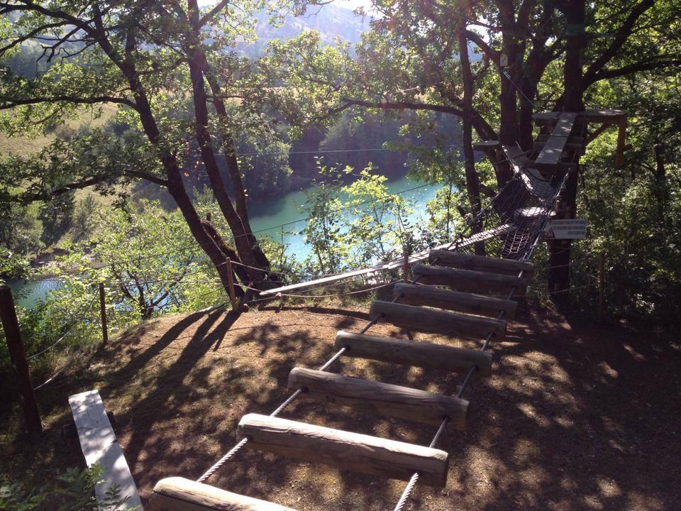 Serre-Ponçon Aventure parc accrobranche