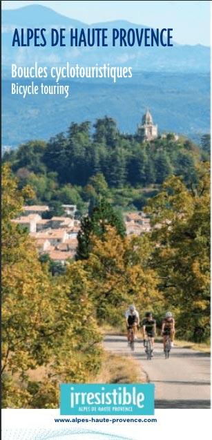 Carte Cyclotouristique des Alpes de Haute Provence