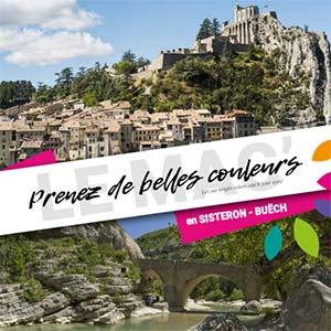 Prenez de belles couleurs provence Brochure Sisteron buech