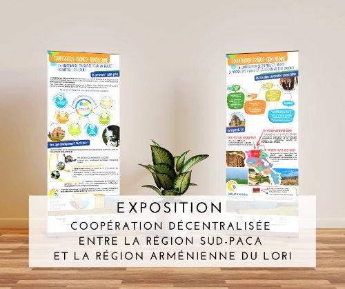 Exposition - Coopération décentralisée entre la Région Sud Paca et lori